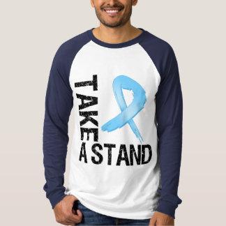 El cáncer de próstata toma un soporte remera