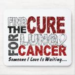 El cáncer de pulmón ENCUENTRA la CURACIÓN 1 Tapetes De Ratón