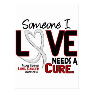 El cáncer de pulmón NECESITA una CURACIÓN 2 Postales