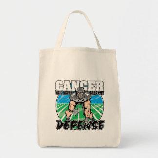El cáncer de pulmón nunca romperá mi defensa bolsas de mano