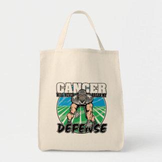 El cáncer de pulmón nunca romperá mi defensa bolsa tela para la compra