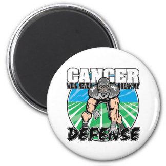 El cáncer de pulmón nunca romperá mi defensa imán redondo 5 cm