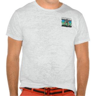 El cáncer de pulmón nunca romperá mi defensa tee shirts