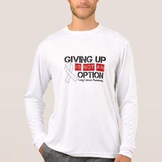 El cáncer de pulmón que da para arriba no es una camiseta
