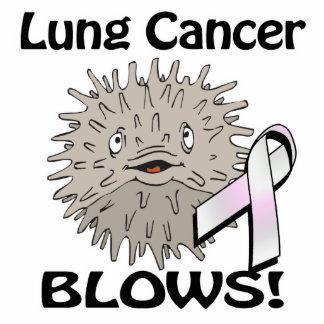 El cáncer de pulmón sopla diseño de la conciencia esculturas fotograficas