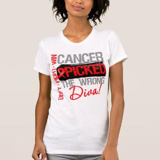El cáncer de sangre escogió a la diva incorrecta camisetas