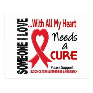 El cáncer de sangre necesita una curación 3 postales