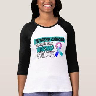El cáncer de tiroides escogió el polluelo playera