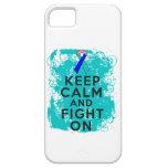 El cáncer de tiroides guarda calma y sigue luchand iPhone 5 protector