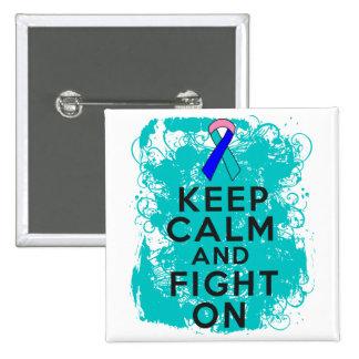El cáncer de tiroides guarda calma y sigue luchand pins