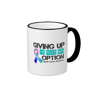 El cáncer de tiroides que da para arriba no es una taza a dos colores