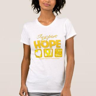 El cáncer de vejiga inspira esperanza camiseta
