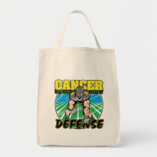 El cáncer de vejiga nunca romperá mi defensa bolsa de mano