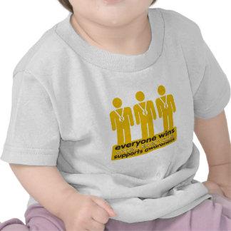 El cáncer del apéndice cada uno gana con camiseta