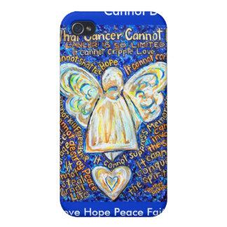 El cáncer del azul y del oro no puede hacer el cas iPhone 4/4S carcasa