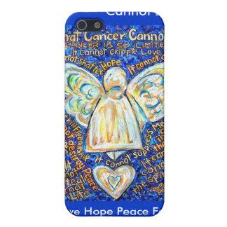 El cáncer del azul y del oro no puede hacer el cas iPhone 5 protector