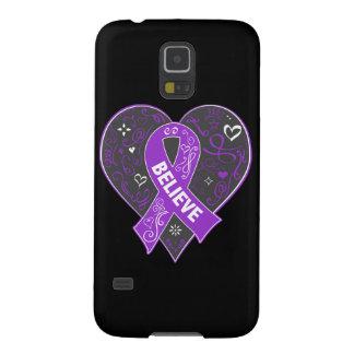 El cáncer del ESENCIAL cree el corazón de la cinta Carcasa De Galaxy S5