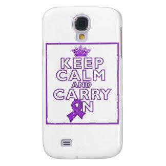 El cáncer del ESENCIAL guarda calma y continúa Funda Para Galaxy S4