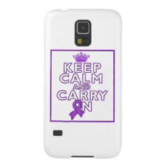 El cáncer del ESENCIAL guarda calma y continúa Carcasa De Galaxy S5