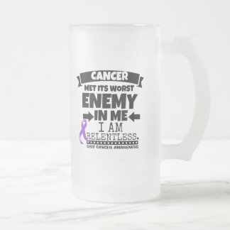 El cáncer del ESENCIAL hizo frente a su enemigo Jarra De Cerveza Esmerilada