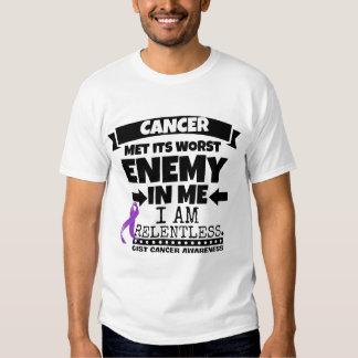 El cáncer del ESENCIAL hizo frente a su enemigo Remeras
