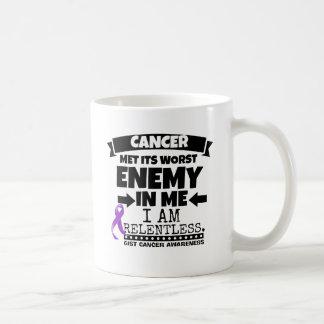 El cáncer del ESENCIAL hizo frente a su enemigo Taza De Café