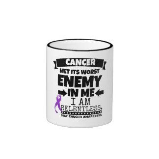 El cáncer del ESENCIAL hizo frente a su enemigo Taza De Dos Colores