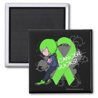 El cáncer del linfoma chupa el muchacho imanes de nevera