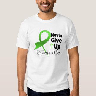El cáncer del linfoma nunca da para arriba polera