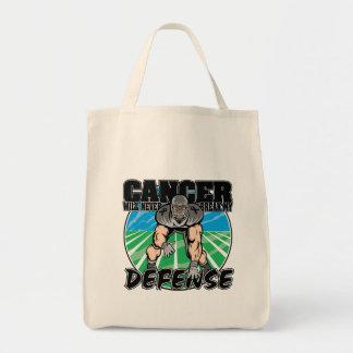 El cáncer del melanoma nunca romperá mi defensa bolsas lienzo