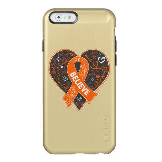 El cáncer del riñón cree el corazón v2 de la cinta funda para iPhone 6 plus incipio feather shine