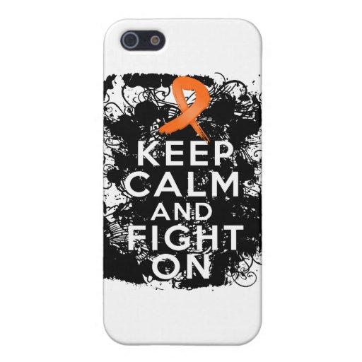 El cáncer del riñón guarda calma y sigue luchando iPhone 5 fundas
