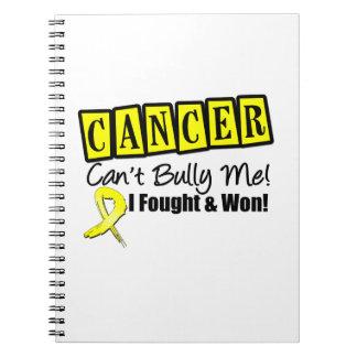 El cáncer del sarcoma no puede tiranizarme… que me libro de apuntes con espiral