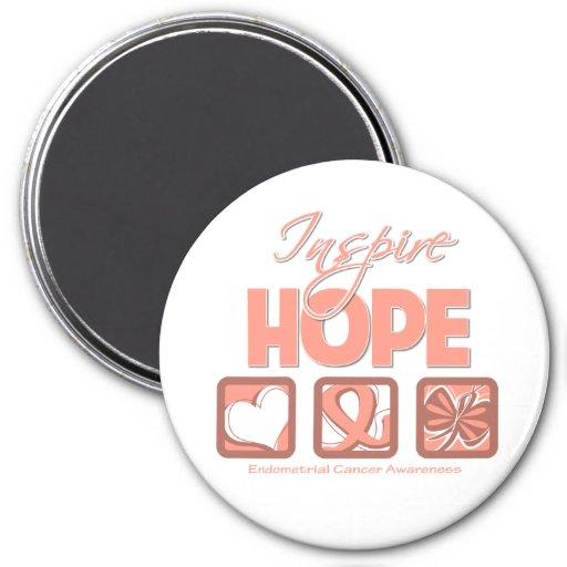 El cáncer endometrial inspira esperanza iman para frigorífico