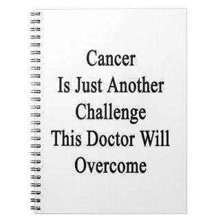 El cáncer es apenas otro desafío el este doctor Wi Libros De Apuntes Con Espiral