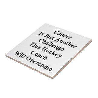 El cáncer es apenas otro desafío este coche de hoc azulejo cuadrado pequeño