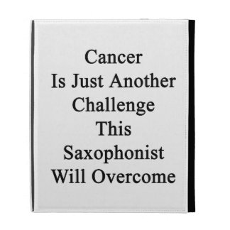El cáncer es apenas otro desafío este saxofonista