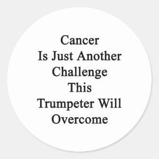 El cáncer es apenas otro desafío los Wi de este Etiquetas Redondas