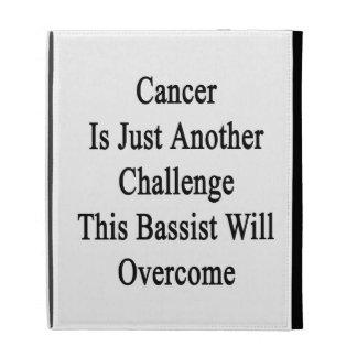 El cáncer es apenas otro desafío que este bajista
