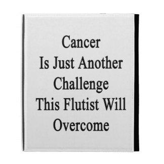 El cáncer es apenas otro desafío que este flautist