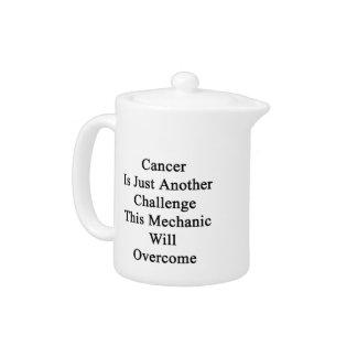El cáncer es apenas otro desafío que este mecánico