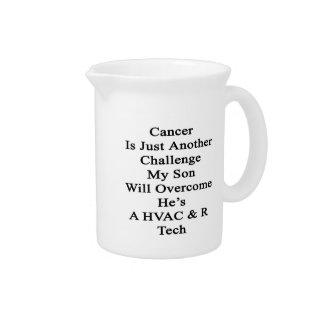 El cáncer es apenas otro desafío que mi hijo Overc Jarrón