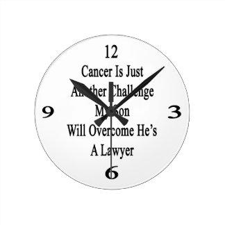 El cáncer es apenas otro desafío que mi hijo Overc Reloj Redondo Mediano