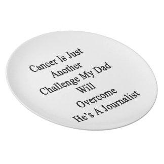 El cáncer es apenas otro desafío que mi papá Overc Platos De Comidas