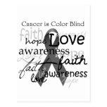 El cáncer es daltónico postales