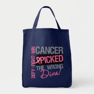 El cáncer escogió a la diva incorrecta - cáncer de bolsa tela para la compra