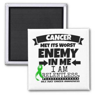 El cáncer hepático hizo frente a su enemigo peor imán cuadrado