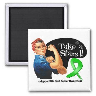 El cáncer hepático toma un soporte imán