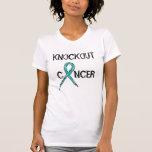 El cáncer Knockout de la mujer - ovárico - Camiseta