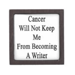 El cáncer no me guardará de hacer escritor cajas de regalo de calidad